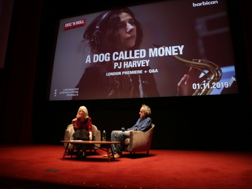 A Dog Called Money: journalist Karen Shook and director Seamus Murphy