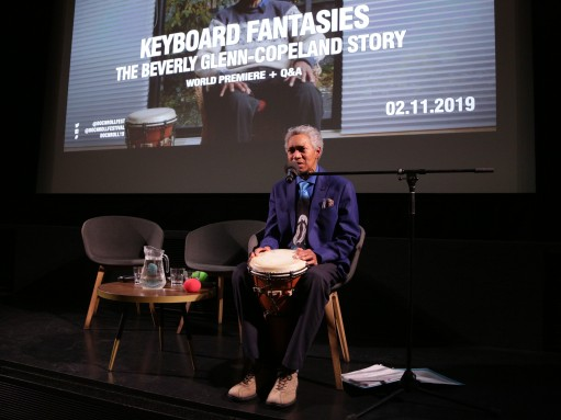 Keyboard Fantasies: Beverly Glenn-Copeland performs at the film's world premiere